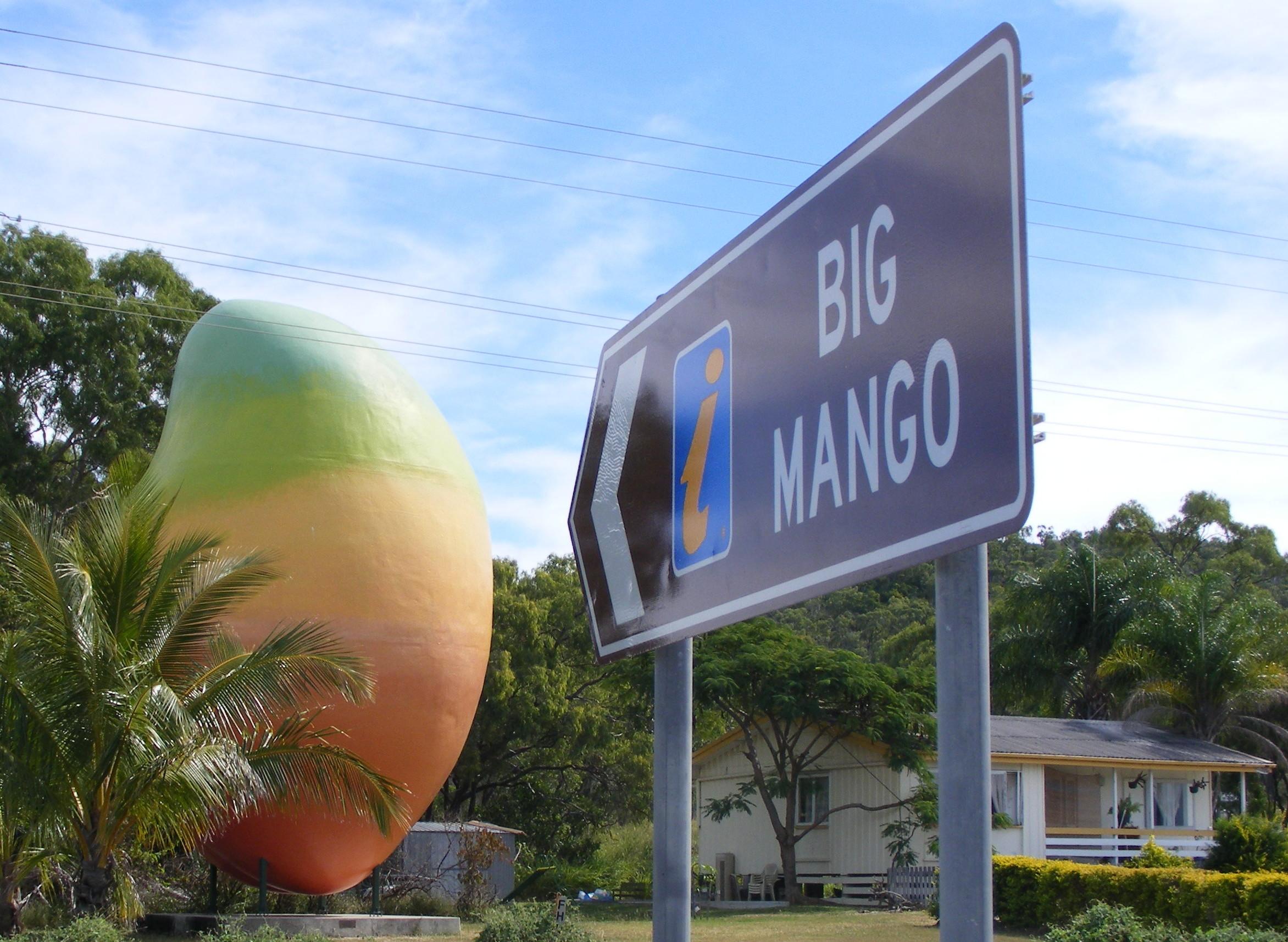 Big Mango sign